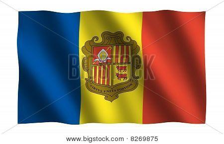Andorra 3D Flag