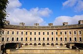 pic of crescent  - Front view of the Buxton Crescent Buxton Derbyshire England UK Western Europe - JPG