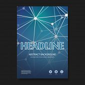 foto of science  - Flyer or Cover Design Template  - JPG