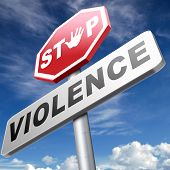 stock photo of stop fighting  - no violence or aggression stop violent or aggressive actions no war or fights prevention - JPG