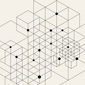image of structure  - Vector Modern Pattern - JPG