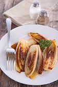 pic of chicory  - fried chicory - JPG