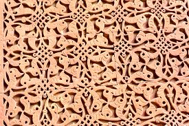 stock photo of qutub minar  - Decorative Pattern  - JPG