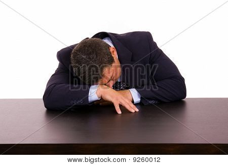 Business Man Sleeping