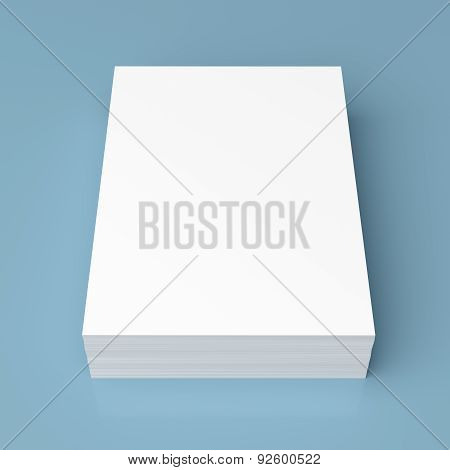 Stack Of White Paper