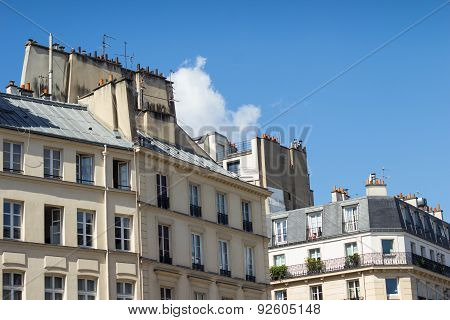 Traditional Paris Rooftop