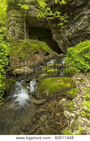 Cave In Spring