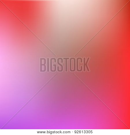 Abstract Red-magenta Blur Background