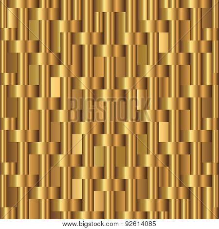 Abstract Background With Golden Bars