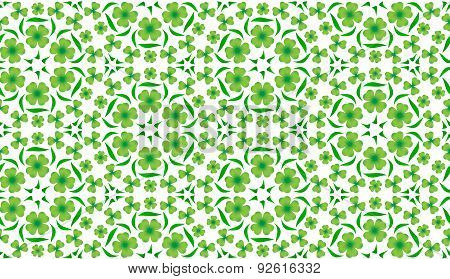 Abstract Pattern For St. Patrick's Day