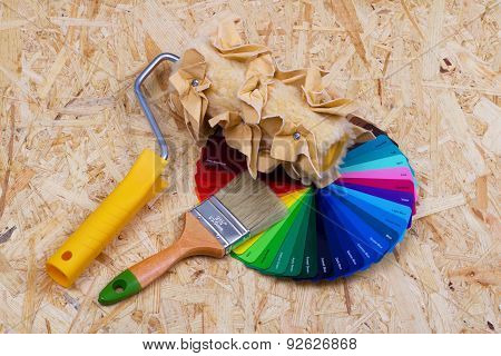 Color Palette And Tools