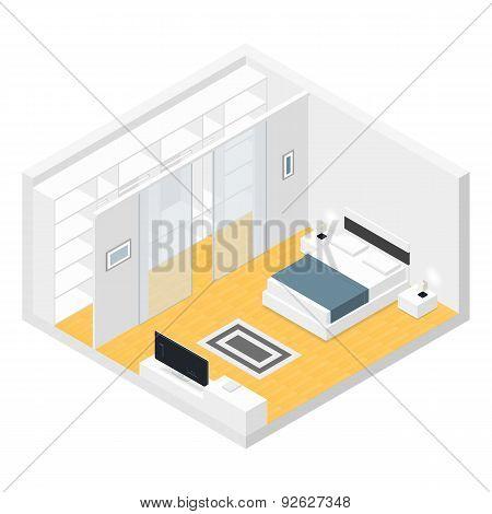 Bedroom Isometric Set