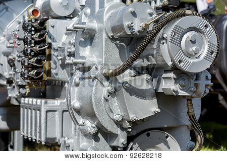 Modern Engine Closeup