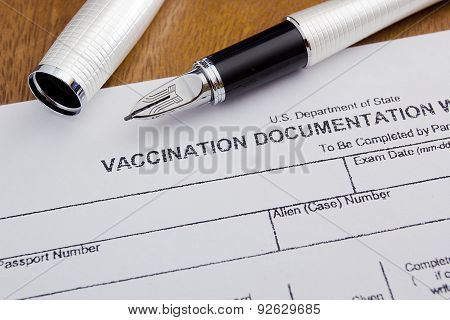 Vaccination Documentation