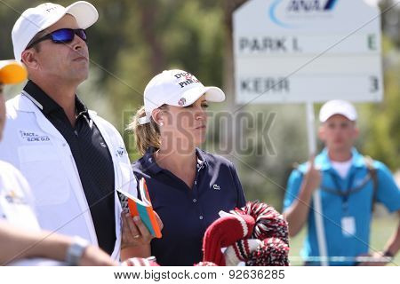 Christie Kerr At The Ana Inspiration Golf Tournament 2015