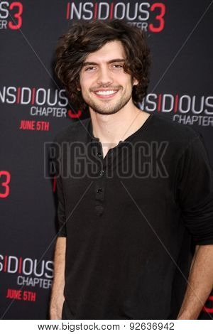 LOS ANGELES - JUN 4:  Carter Jenkins at the
