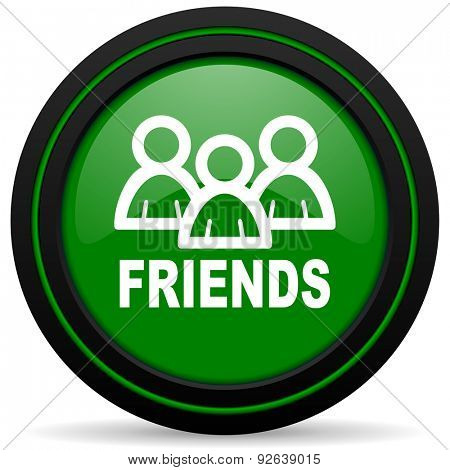 friends green icon