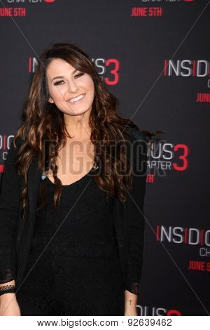 LOS ANGELES - JUN 4:  Scout Taylor-Compton at the