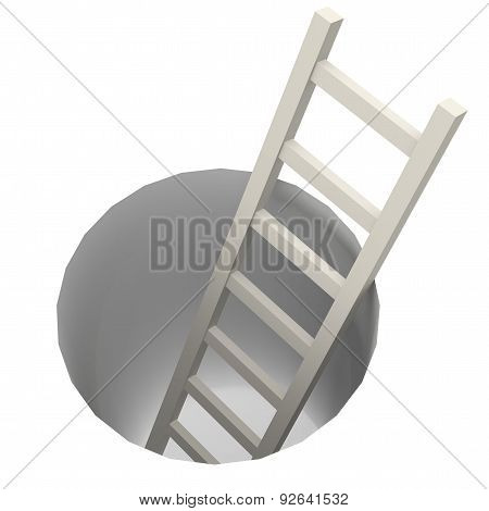 Ladder From Hole