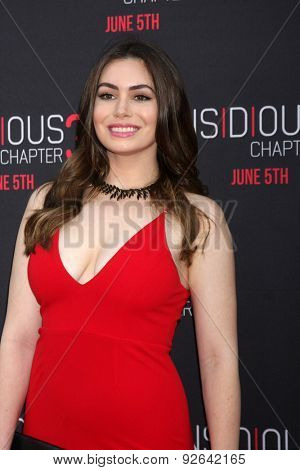 LOS ANGELES - JUN 4:  Sophie Simmons at the