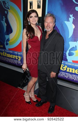 LOS ANGELES - JUN 2:  Blanca Blanco, John Savage at the