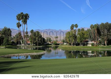 Golf Course View At The Ana Inspiration Golf Tournament 2015