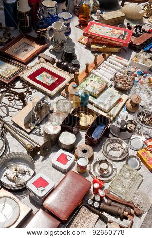 Everything For Sale On A Flea Market
