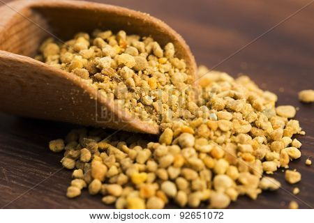 Bee Pollen Closeup