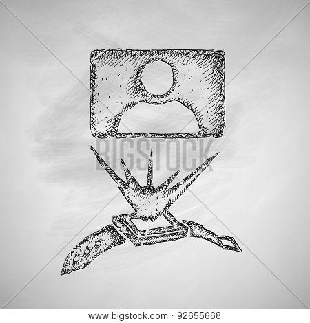 hologram icon
