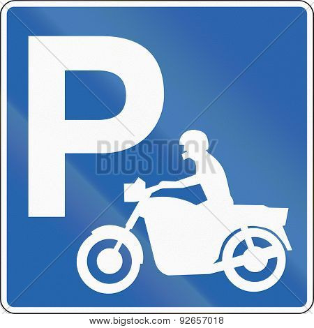 Motorcycle Parking In Iceland