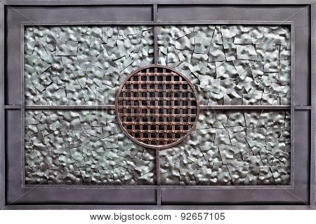 silver metall background