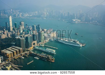 Hong Kong View From Icc Sky100