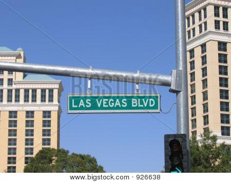 Sinal de Las Vegas Boulevard