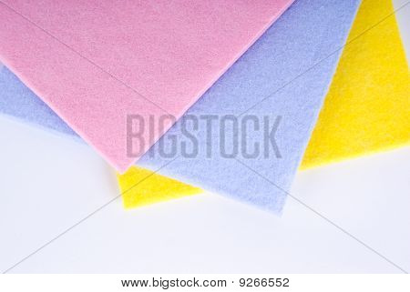 Kitchen sponge cloth for do the dishes