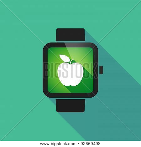 Smart Watch With A  Fruit