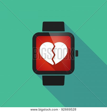 Smart Watch With A  Heart