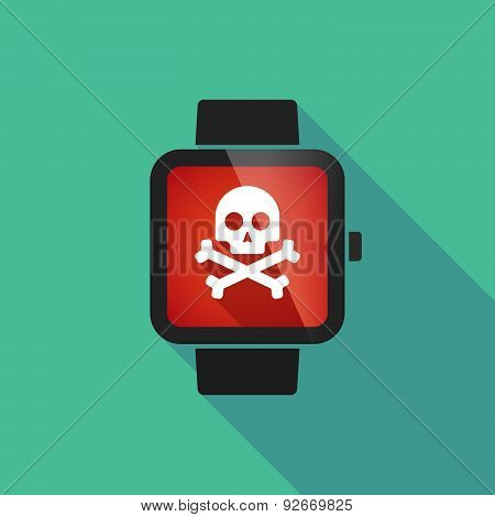 Smart Watch With A  Skull