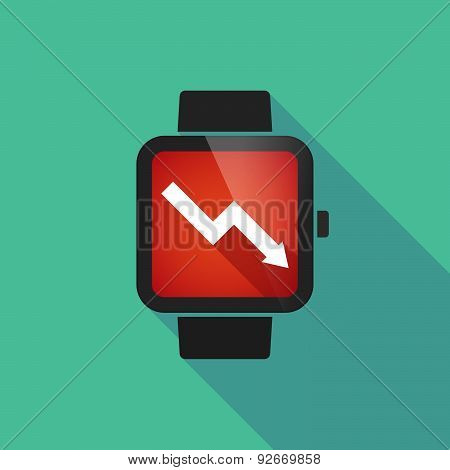 Smart Watch With A Graph