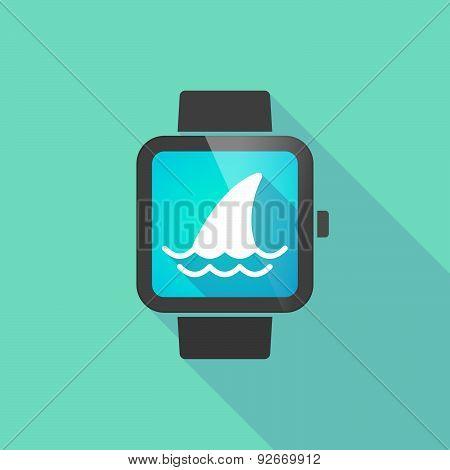 Smart Watch With A Shark Fin