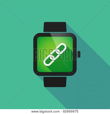 Smart Watch With A Code Sign