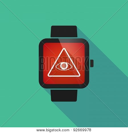 Smart Watch With An All Seeing Eye