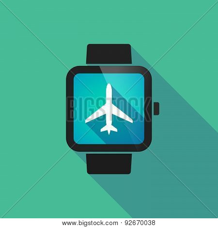 Smart Watch With A Plane