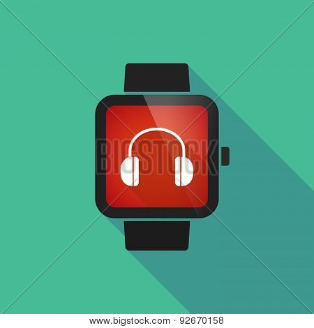 Smart Watch With A G Clef