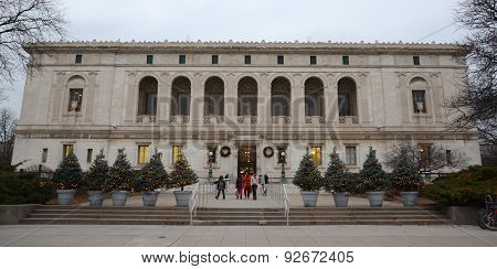 Detroit Public Library Front