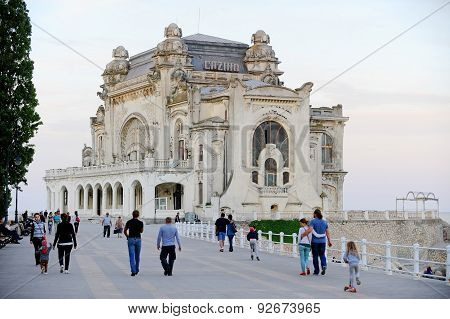 Old Casino In Constanta