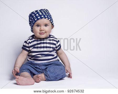 Baby In Cute Outfit