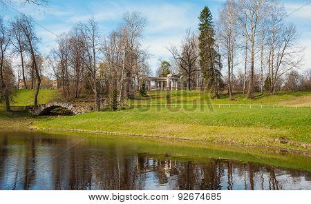 Pavlovsky landscape