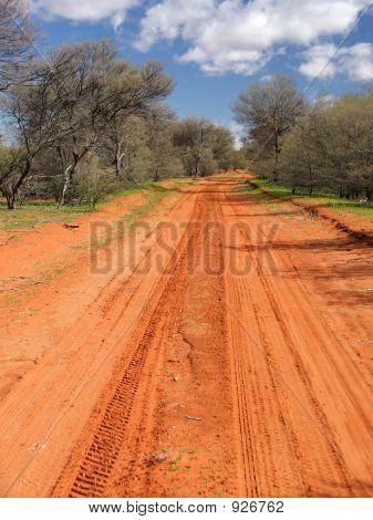 Red Sandy Track