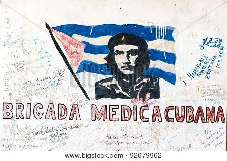 Che Guevara Graffiti