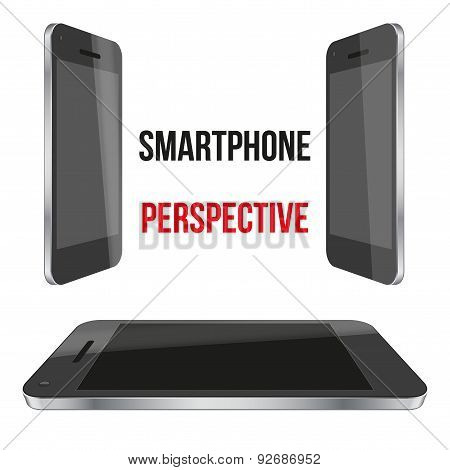 Impersonal Smartphone perspective realistic.